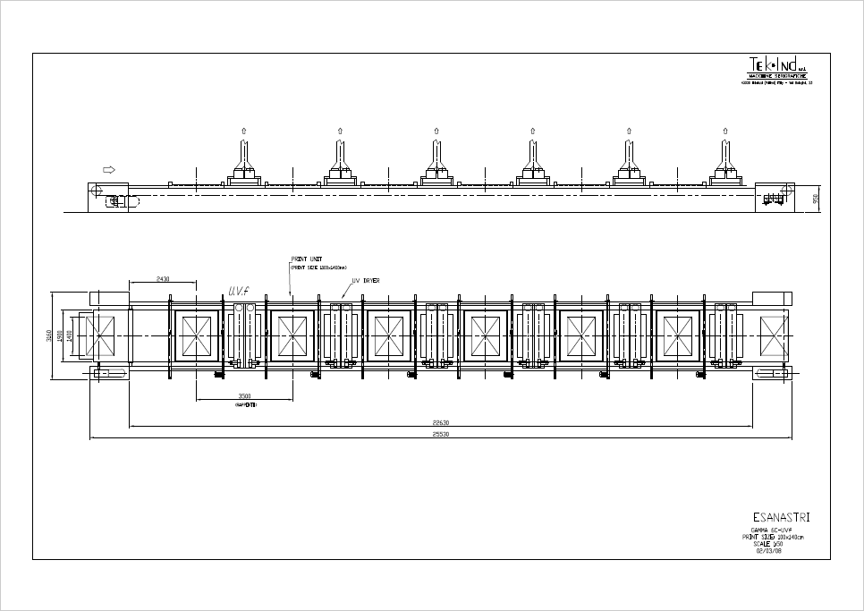 6 Colori UV Formato 1400x1000