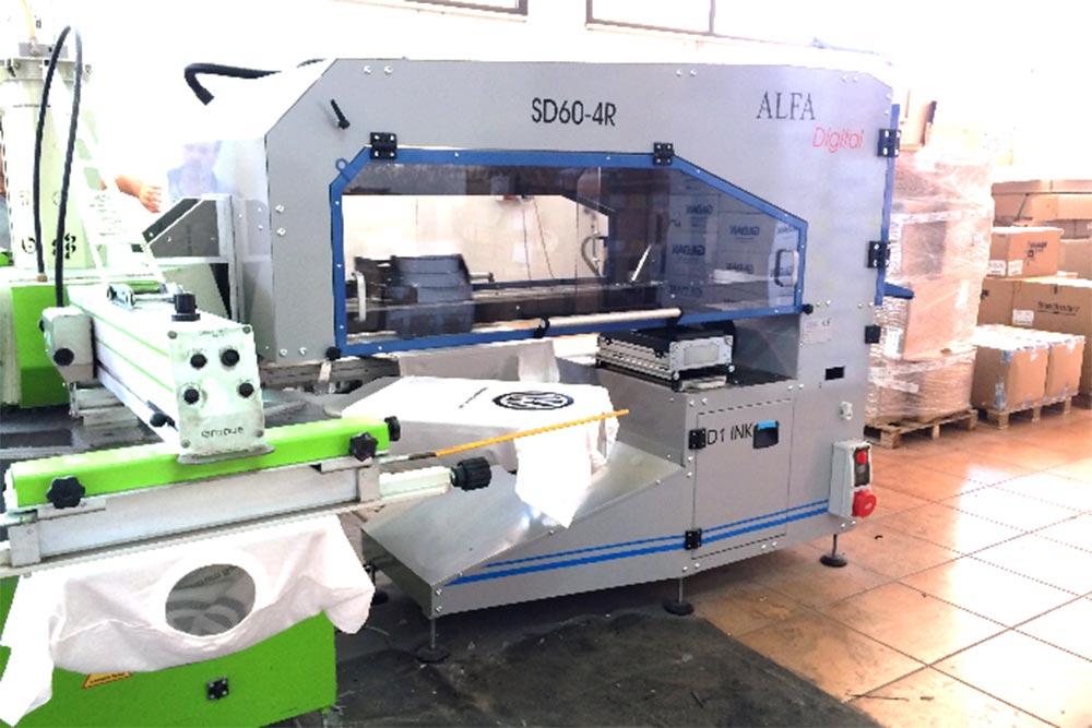 macchina da stampa circolare + sd60-r4