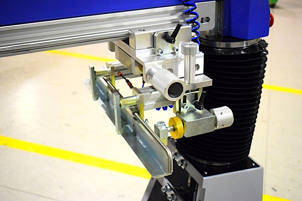 Supporto posteriore telaio stampa
