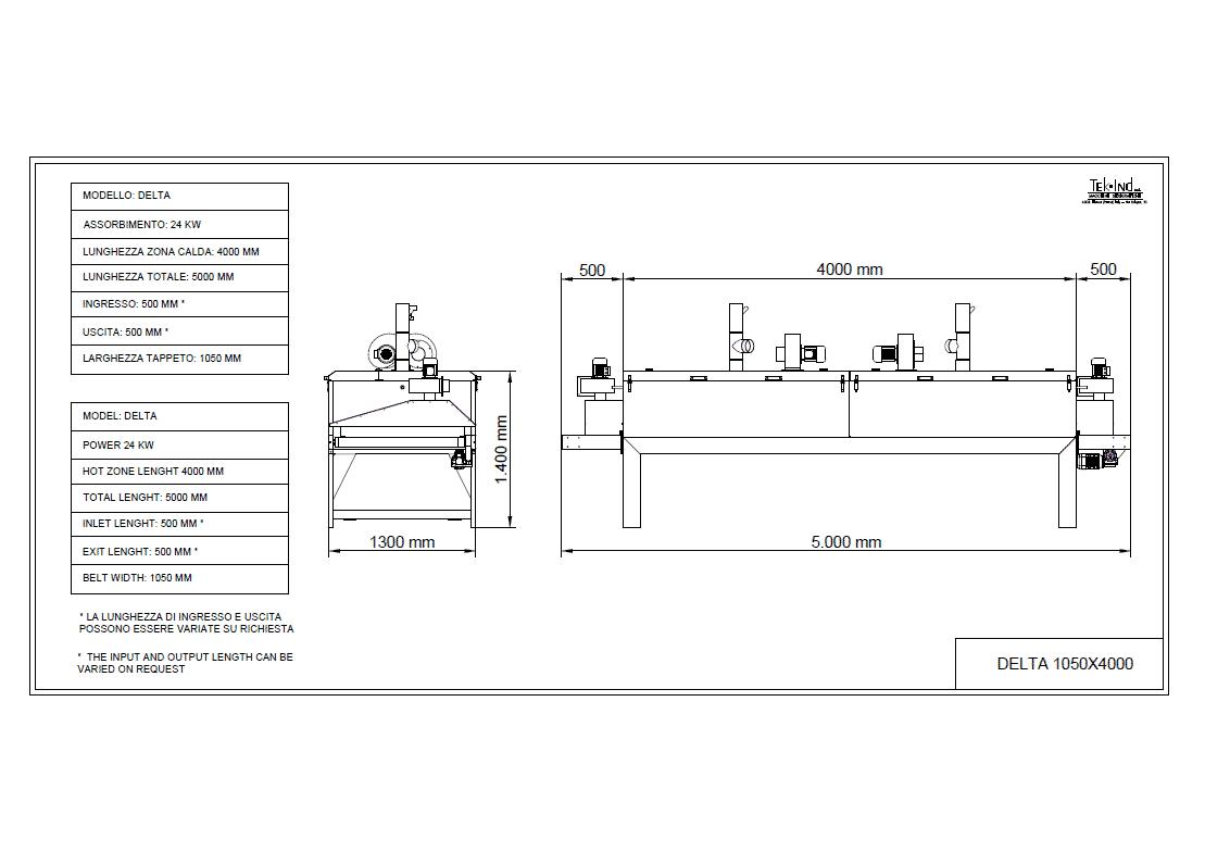 DELTA-1050X4000