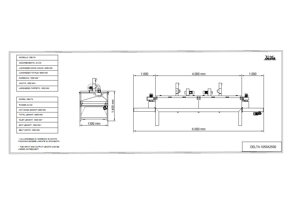 DELTA-1050X4000 - 1000ing - 1000usc