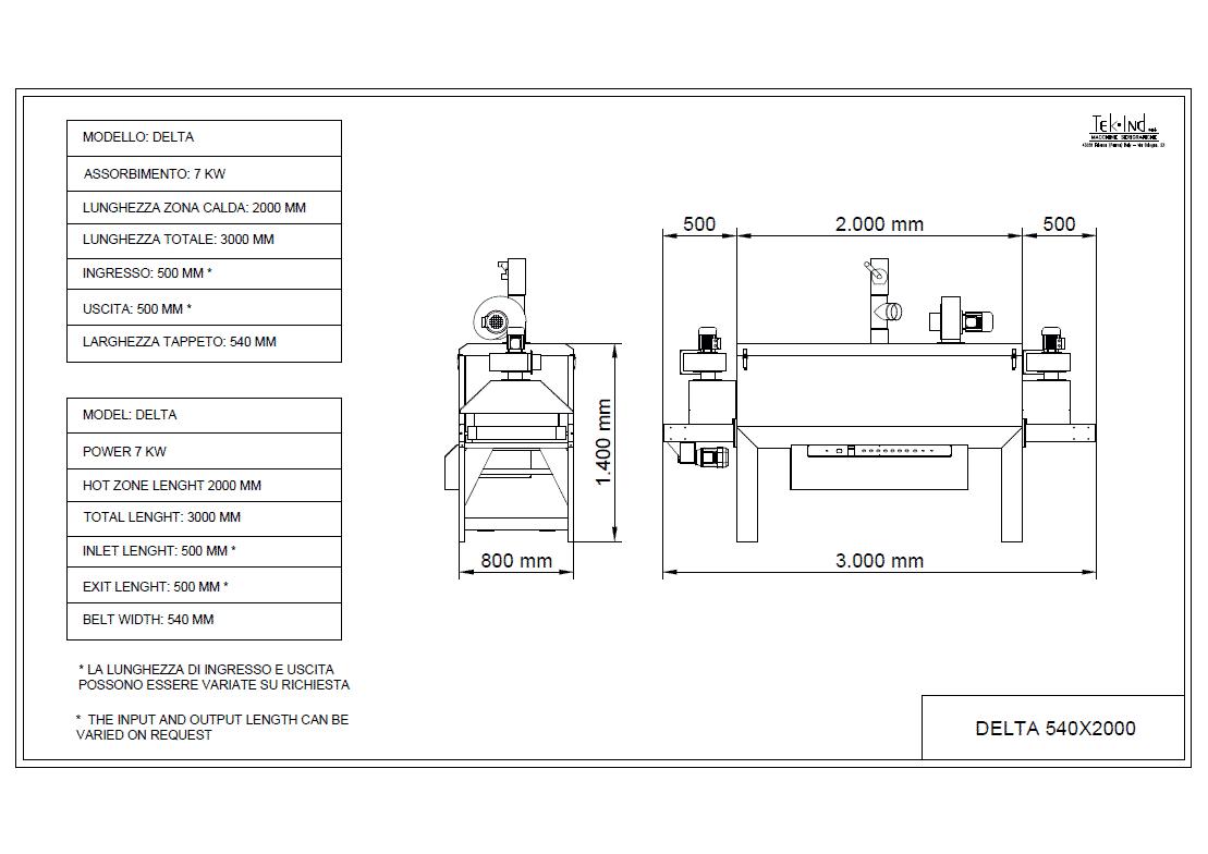 DELTA-540X2000