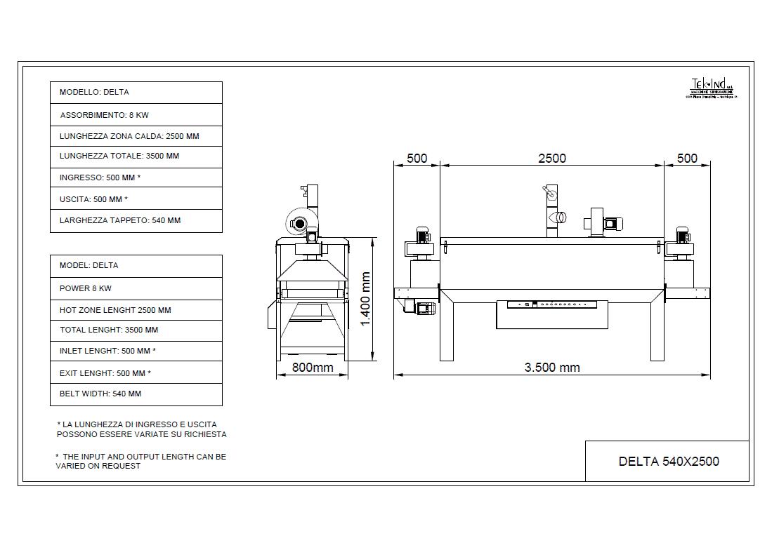 DELTA-540X2500