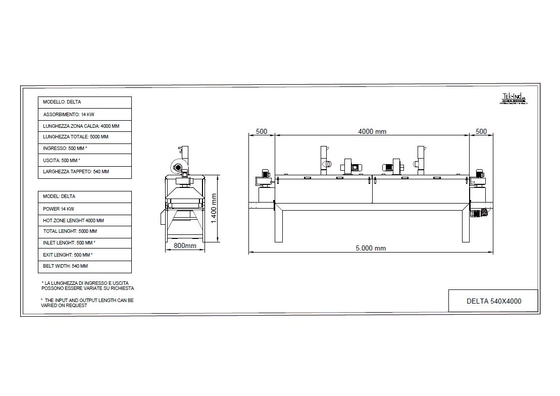 DELTA-540X4000