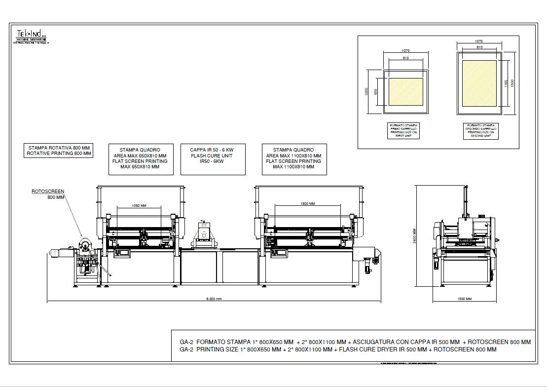 GA-2 (800X650+800X1100) +ROTOSCREEN800