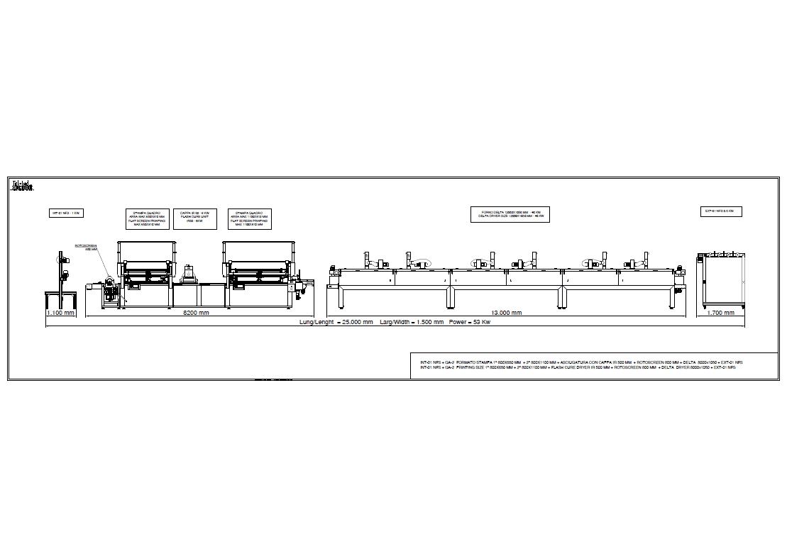 GA-2(800X650+800X1100) +ROTOSCREEN800 +DELTA12000