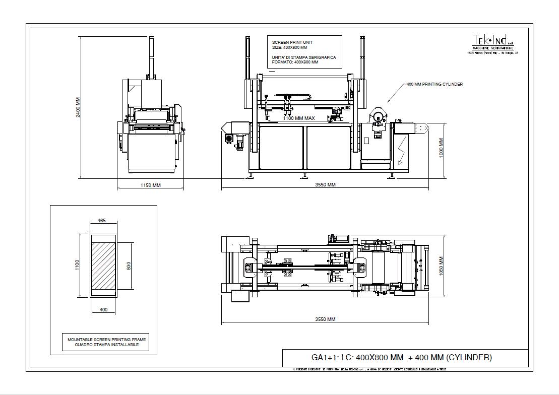 GA1 1LC400X800ROTOSCREEN400