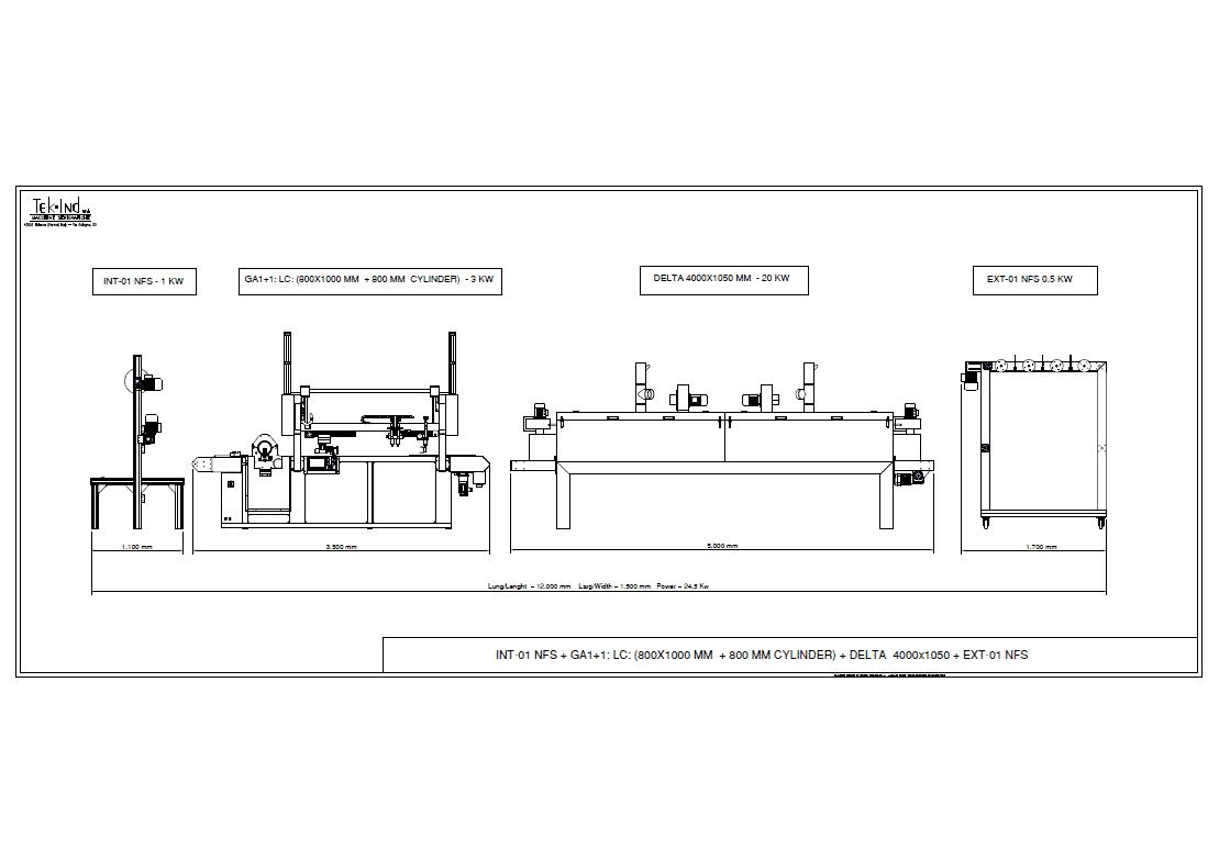 GA1+1 (LC800X1000+ROTOSCREEN800) +DELTA4000X1050