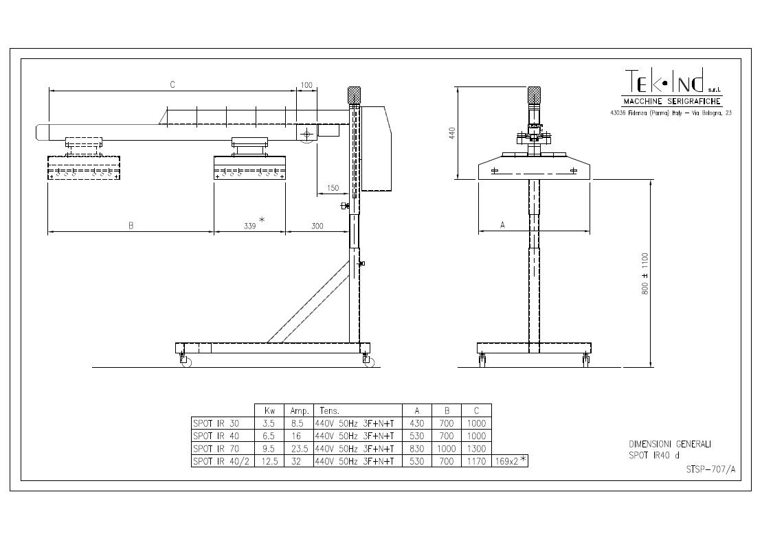 SpotIR-40d-STSP-707-A