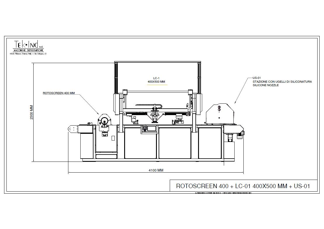 US-01 +ROTOSCREEN400 +LC-1400X500