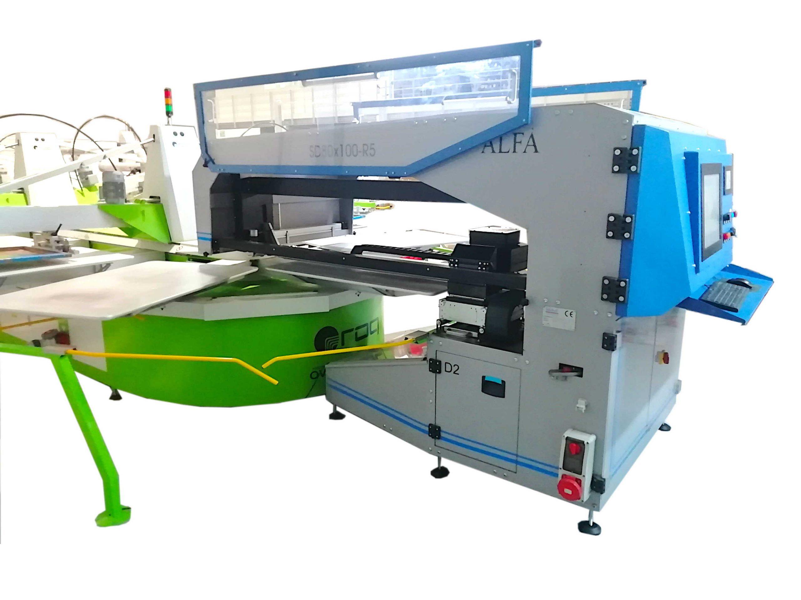 macchina da stampa ovale + sd80x100-r5